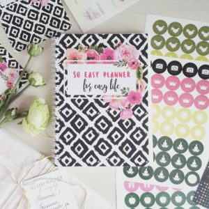 #So_easy_planner отзыв женский ежедневник, блокнот, планер